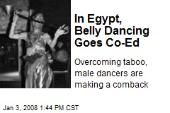 In Egypt, Belly Dancing Goes Co-Ed