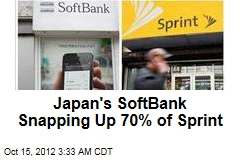 Japan's Softbank Snapping Up 70% of Sprint