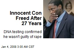 Innocent Con Freed After 27 Years
