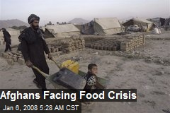 Afghans Facing Food Crisis