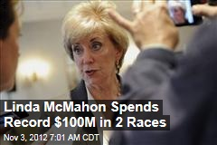 Linda McMahon Spends Record $100M in 2 Races
