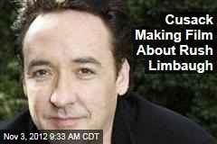 Cusack Making Film About Rush Limbaugh