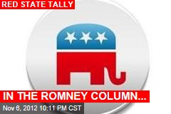 IN THE ROMNEY COLUMN...