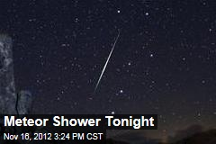 Meteor Shower Tonight