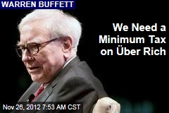 We Need a Minimum Tax on Über Rich