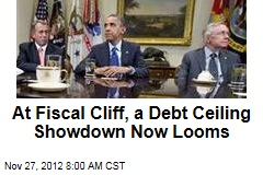 At Fiscal Cliff, a Debt Ceiling Showdown Now Looms