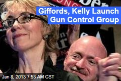 Giffords, Kelly Launch Gun Control Group