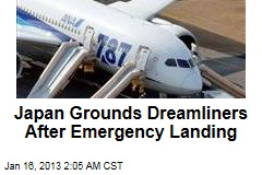 Japan Grounds Dreamliners After Emergency Landing