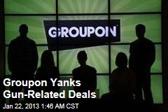 Groupon Suspends Gun-Related Deals