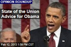 State of the Union Advice for Obama