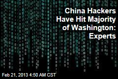 China Hackers Have Hit Most of Washington: Experts