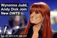 Wynonna Judd, Andy Dick Join New DWTS