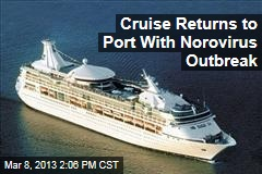 Cruise Returns to Port With Norovirus Outbreak