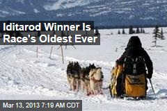 Iditarod Winner Is Race's Oldest Ever
