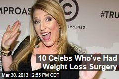 10 Celebs Who've Had Weight Loss Surgery