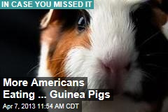 More Americans Eating ... Guinea Pigs