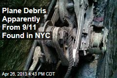 New Plane Debris From 9/11 Found Near Ground Zero