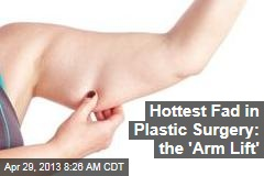 Hottest Fad in Plastic Surgery: the 'Arm Lift'