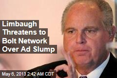 Limbaugh Threatens to Quit Network Over Boycott Row