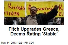 Fitch Upgrades Greece, Deems Rating 'Stable'