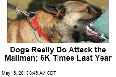 Dogs Really Do Attack the Mailman; 6K Times Last Year