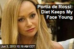 Portia de Rossi: Diet Keeps My Face Young
