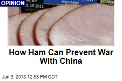 How Ham Can Prevent War With China