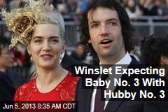 Winslet Expecting Baby No. 3 With Hubby No. 3