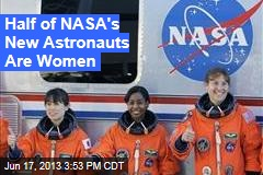 Half of NASA's New Astronauts Are Women