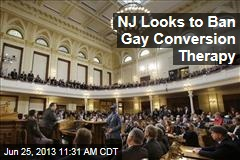 NJ Looks to Ban Gay Conversion Therapy