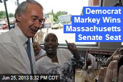 Democrat Markey Wins Massachusetts Senate Seat