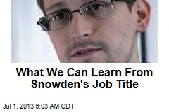 Devising Cyber Attacks Was Part of Snowden's Job