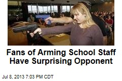 Fans of Arming School Staff Have Surprising Opponent