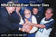 NBA's First-Ever Scorer Dies