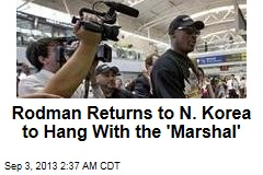 Rodman: New NK Visit All About the Hoops