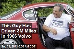 This Guy Has Driven 3M Miles in 1966 Volvo