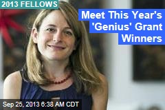 Meet This Year's 'Genius' Grant Winners