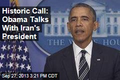 Historic Call: Obama Talks With Iran's President
