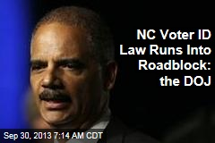 NC Voter ID Law Runs Into Roadblock: the DOJ
