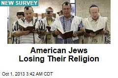 American Jews Losing Their Religion
