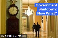 Government Shutdown: Now What?