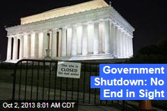 Government Shutdown: No End in Sight