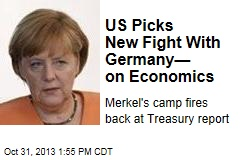 US Picks New Fight With Germany— on Economics