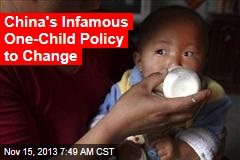 China's Infamous One-Child Policy to Change