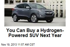 You Can Buy a Hydrogen-Powered SUV Next Year