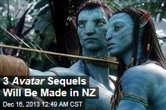 3 Avatar Sequels Will Be Made in NZ