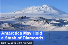 Huge Antarctic Diamond Deposits Spotted