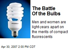 The Battle Of the Bulbs