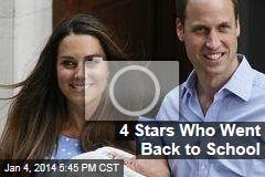 4 Stars Who Went Back to School