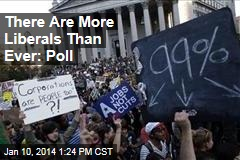 There Are More Liberals Than Ever: Poll